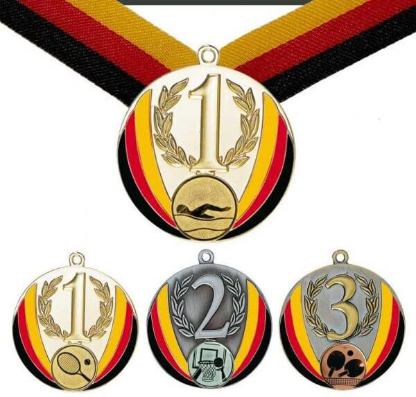 70 mm Emaillierte Medaille
